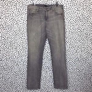 KUT Gray Straight Leg Jeans